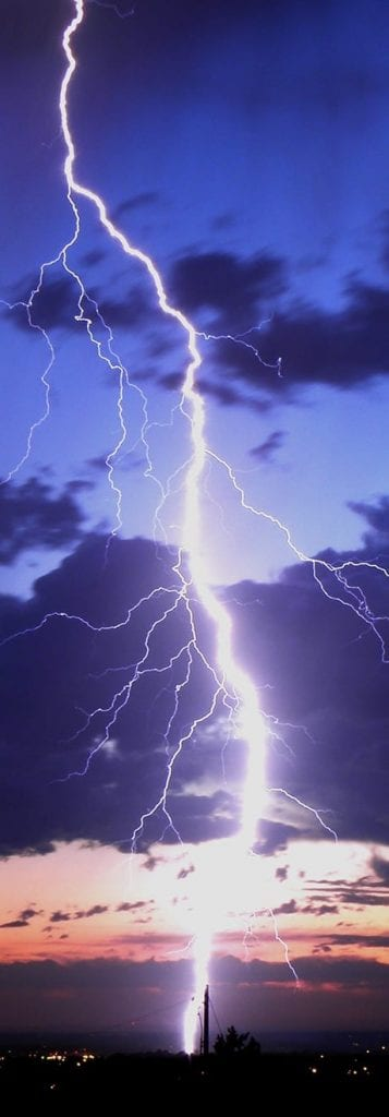 Lightning damage florida Insurance Adjuster