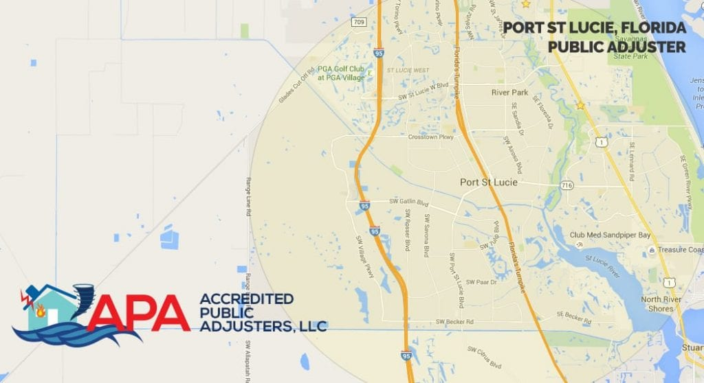 Where Is Port St Lucie Florida On The Map.Insurance Claim Adjuster Port Saint Lucie Fl